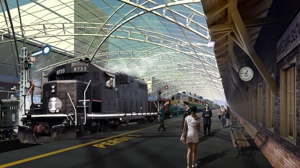 Muzeum Kolejnictwa powinno się wynieść z miasta? / fot. Muzeum Kolejnictwa