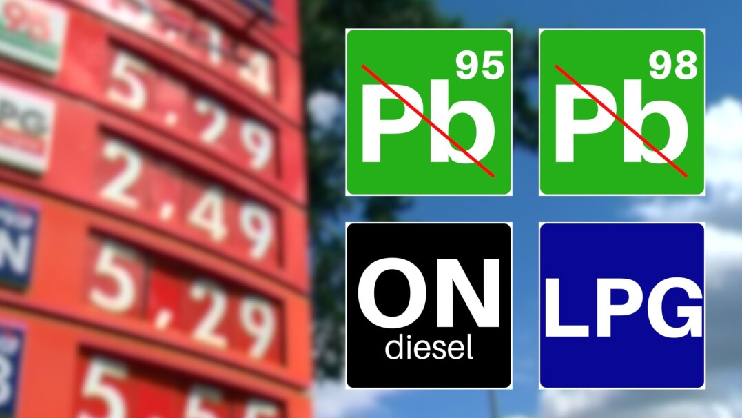 Nowe symbole paliw. Co zamiast Pb, ON i LPG?