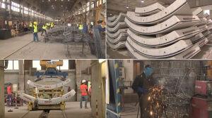 20 ton betonu i stali. Tak powstają tunele drugiej linii metra