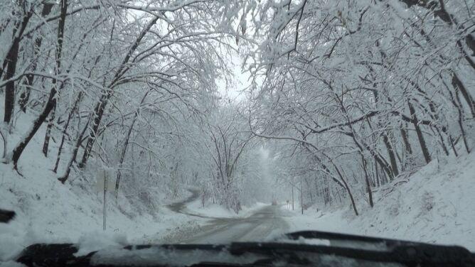 Uwaga na intensywne opady śniegu
