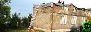 Zniszczony dach, przewrócone słupy. Skutki czwartkowych burz