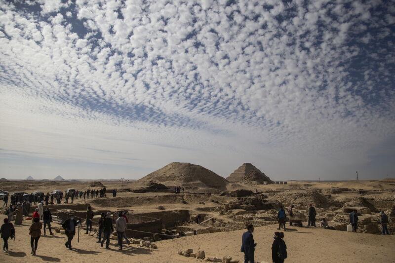 Świątynia grobowa królowej Naert (PAP/EPA/Mohamed Hossam)