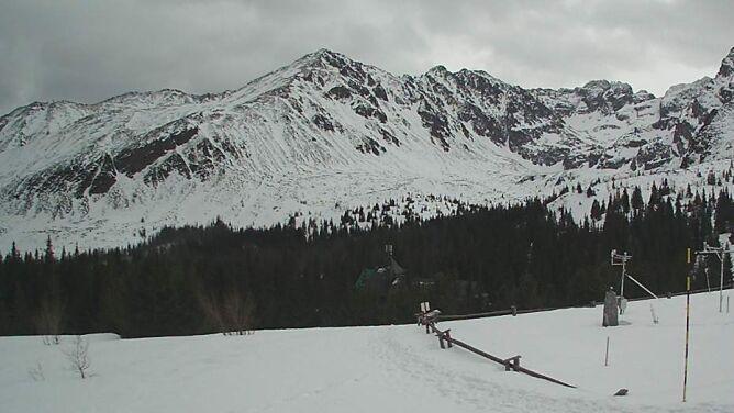 Zmrożony albo grząski śnieg, silny wiatr, zagrożenie lawinowe. Niedziela w górach