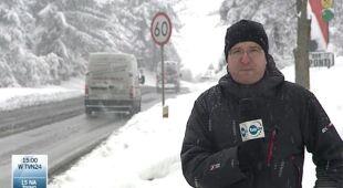 Trudna sytuacja na Zakopiance/TVN24